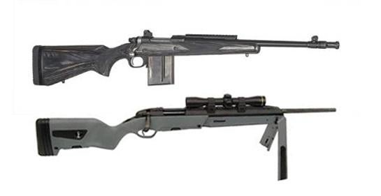 Scout Rifle Showdown: Steyr vs. Ruger