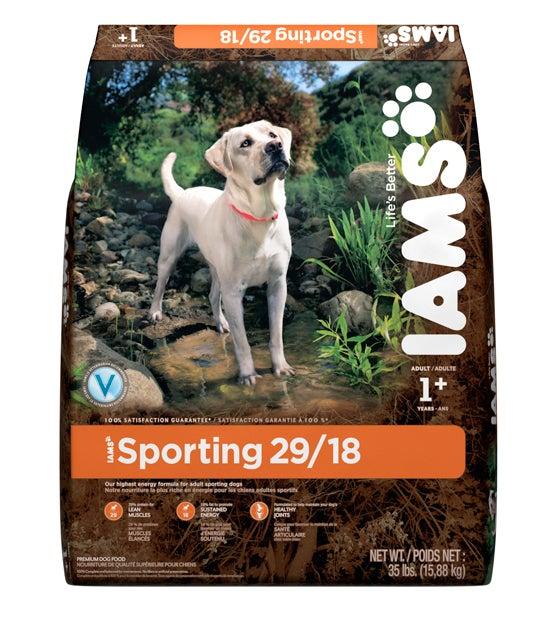 Gun Dog Nutrition: Iams Introduces New Sporting 29/18 Formula
