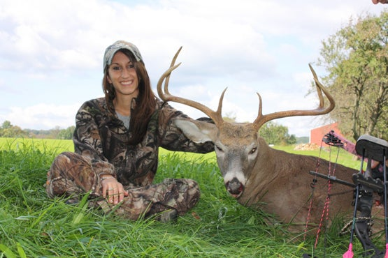 Post-Grad Picks Up Bow Hunting and A 6-Point Buck