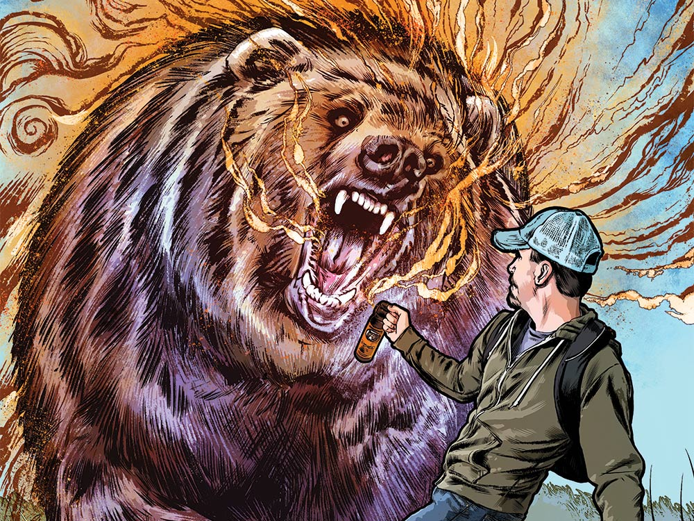 How I Survived A Double Grizzly Attack