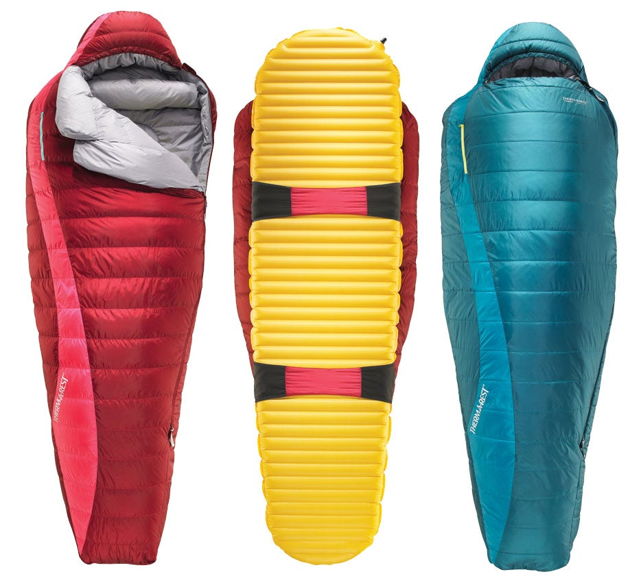 thermarest sleeping bags