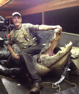 Arkansas Hunter Catches 13-Foot State Record Alligator