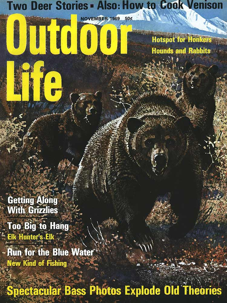 November 1969 Cover of Outdoor Life