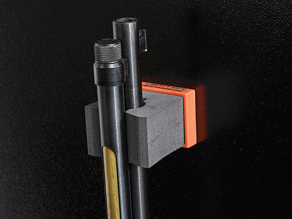 magnetic gun barrel holder