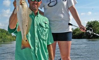 Louisiana Delta: Rookies vs. Redfish