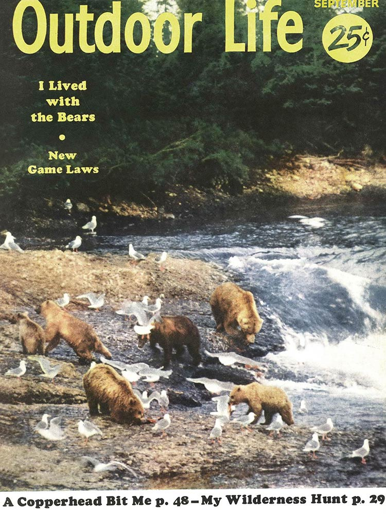 September 1955 Cover of Outdoor Life
