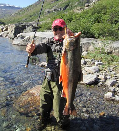Epic Wilderness Fishing Trip Ends With Potential World-Record Arctic Char