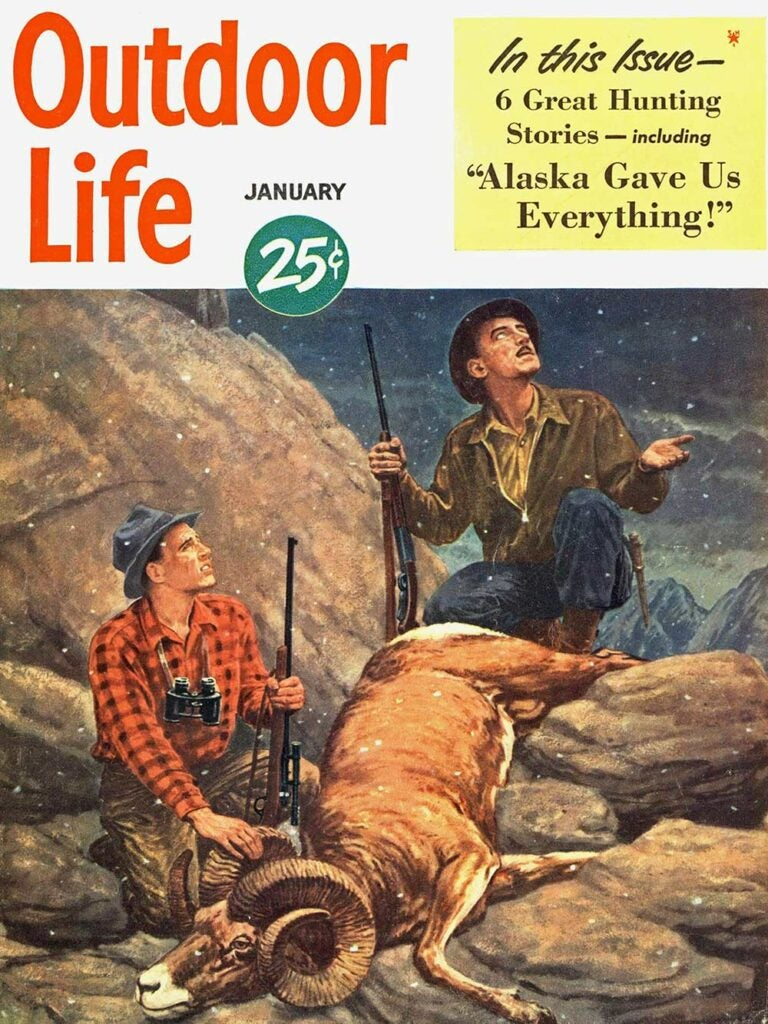 January 1950 Cover of Outdoor Life
