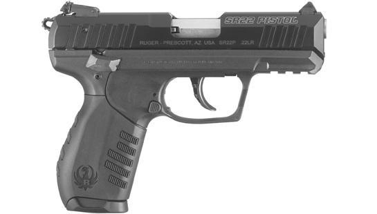 The New Ruger SR22 Pistol is a Plinker's Delight
