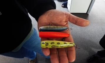Video: Making a Plastic Fishing Lure with a 3D Printer