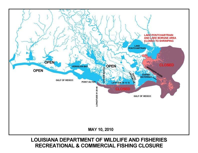 More Gulf Closures
