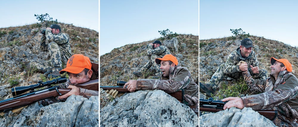 andrew mckean hunting mule deer on greyback ridge
