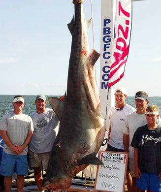 Photos: College Kid Lands Monster Tiger Shark