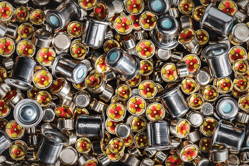 metallic primer cartridges for firearms
