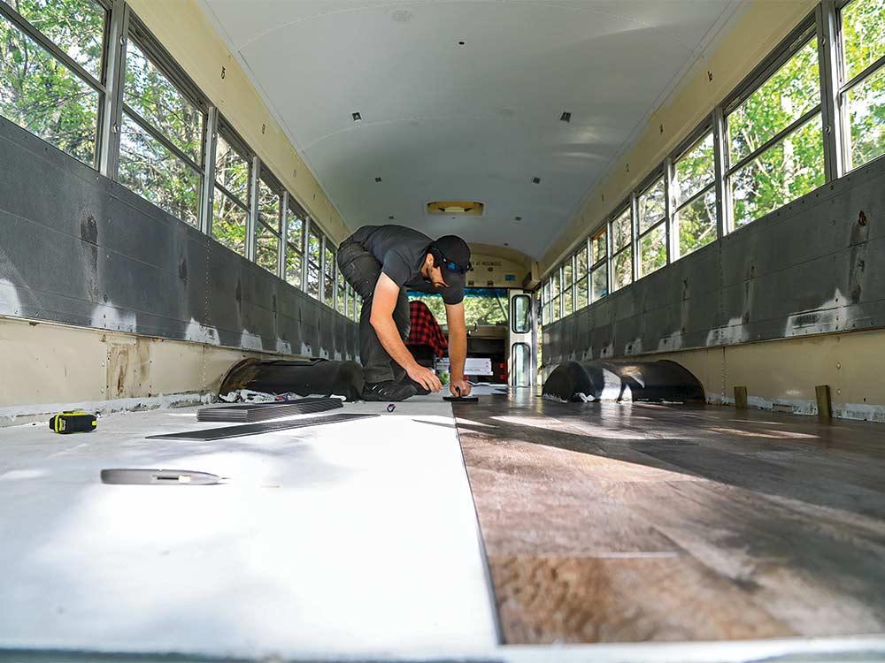sam soholt bus flooring