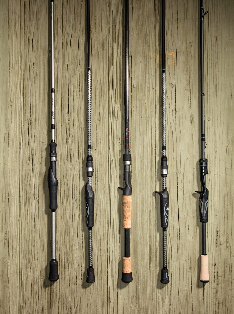 Top fishing rods