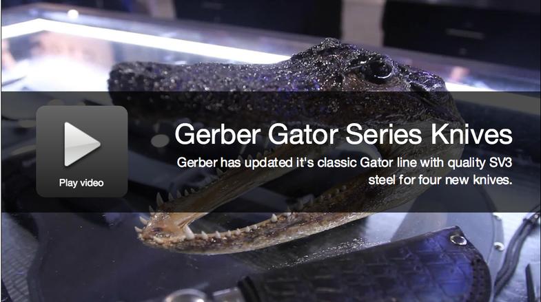 New Knives 2015: Gerber Gator Series