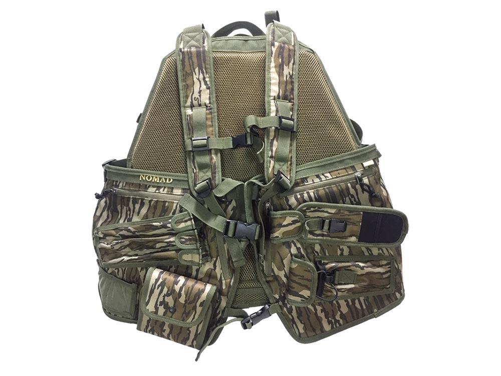 nomad mg turkey hunting vest