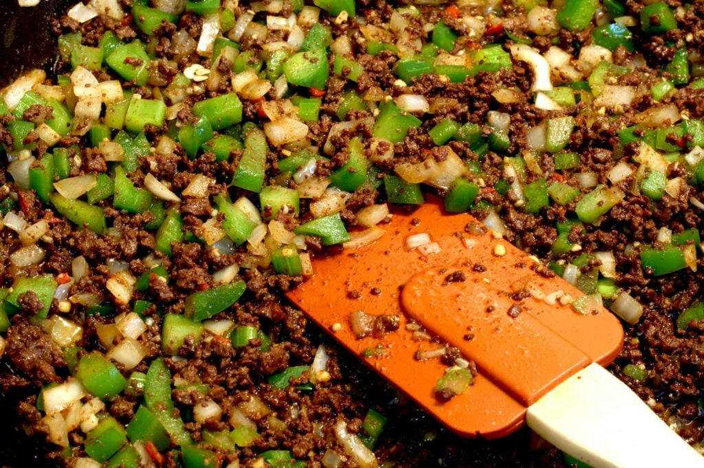 dirty rice with duck liver