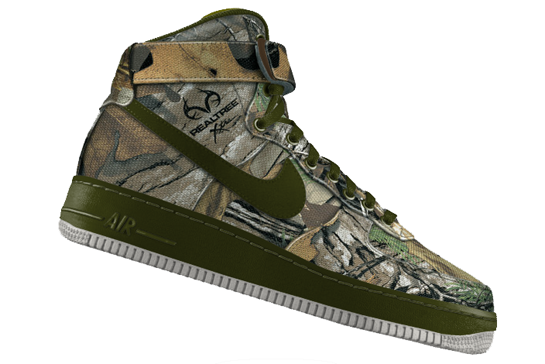 Nike Goes Camouflage with the Air Force 1