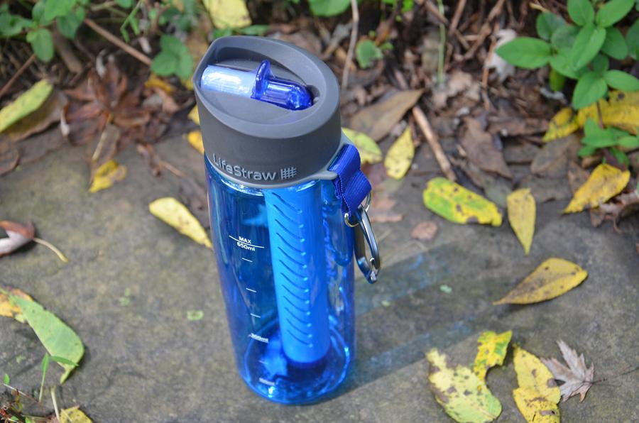 Survival Gear Review: Lifestraw Go Water Bottle