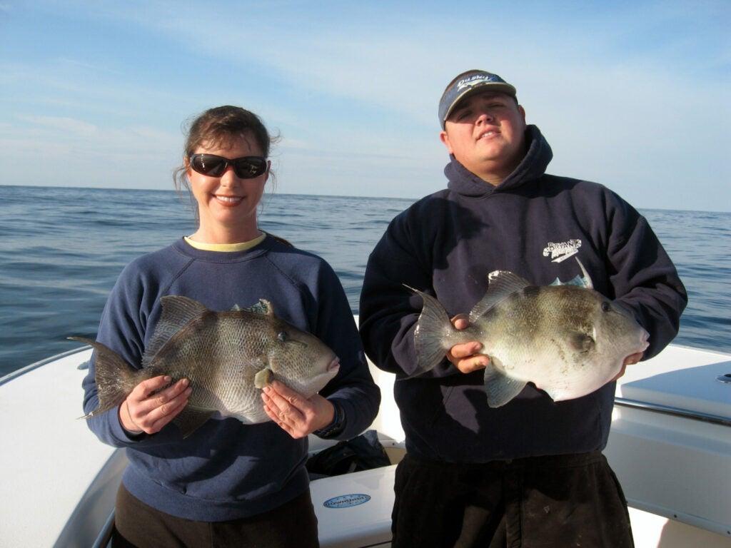 httpswww.outdoorlife.comsitesoutdoorlife.comfilesimport2014importImage2009photo7Dr._Jule_Ball_and_Capt_Danny_Davis_with_citation_Triggerfish_0.JPG