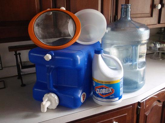 Survival Skills: Set Up A Disaster Water Treatment System