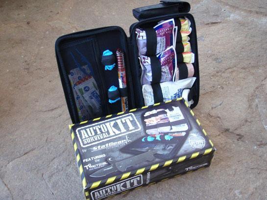 Survival Gear: StatGear Auto Survival Kit
