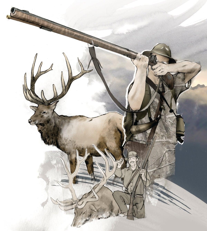 Going Primitive: A Record-Book Longbow Buck and Flintlock Bull Elk