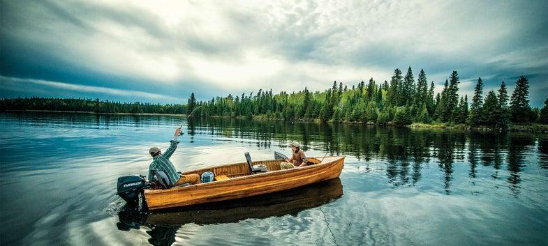 wabatongushi lake walleye fishing