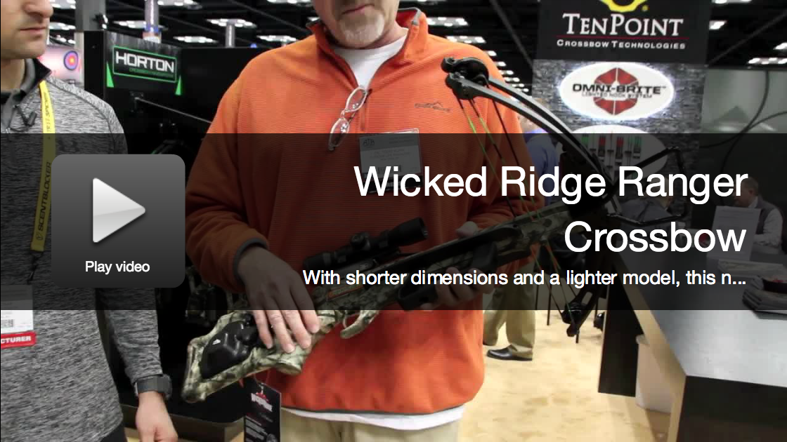 New Crossbow: Wicked Ridge Ranger for Youth Hunters
