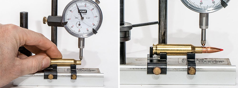 handloading with concentricity