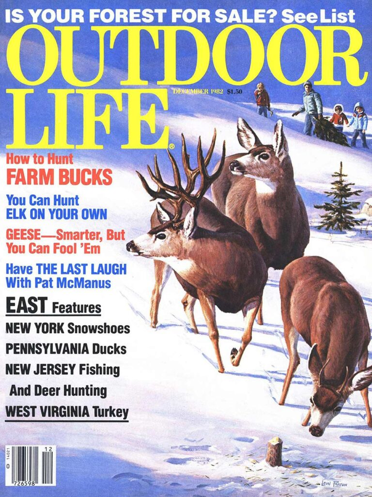 December 1982 Cover of Outdoor Life