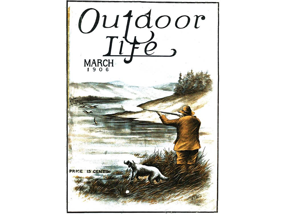March 1906 cover of Outdoor Life