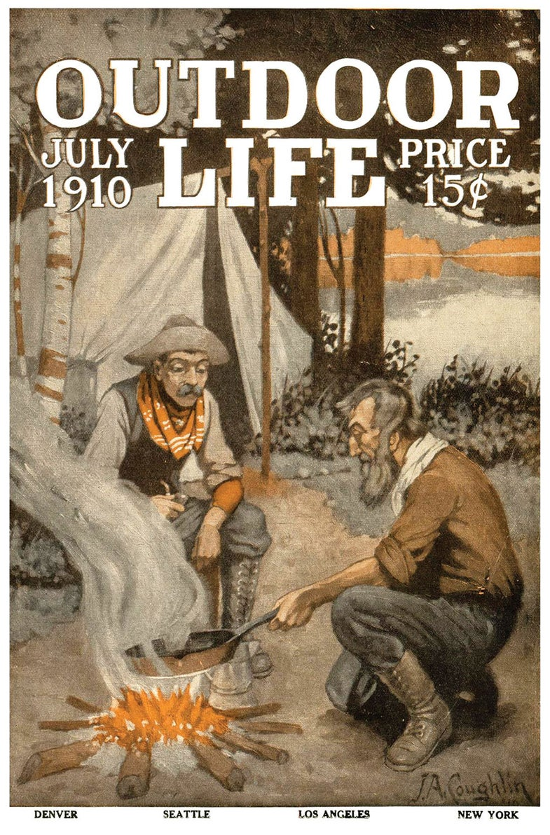 July 1910 cover of Outdoor Life