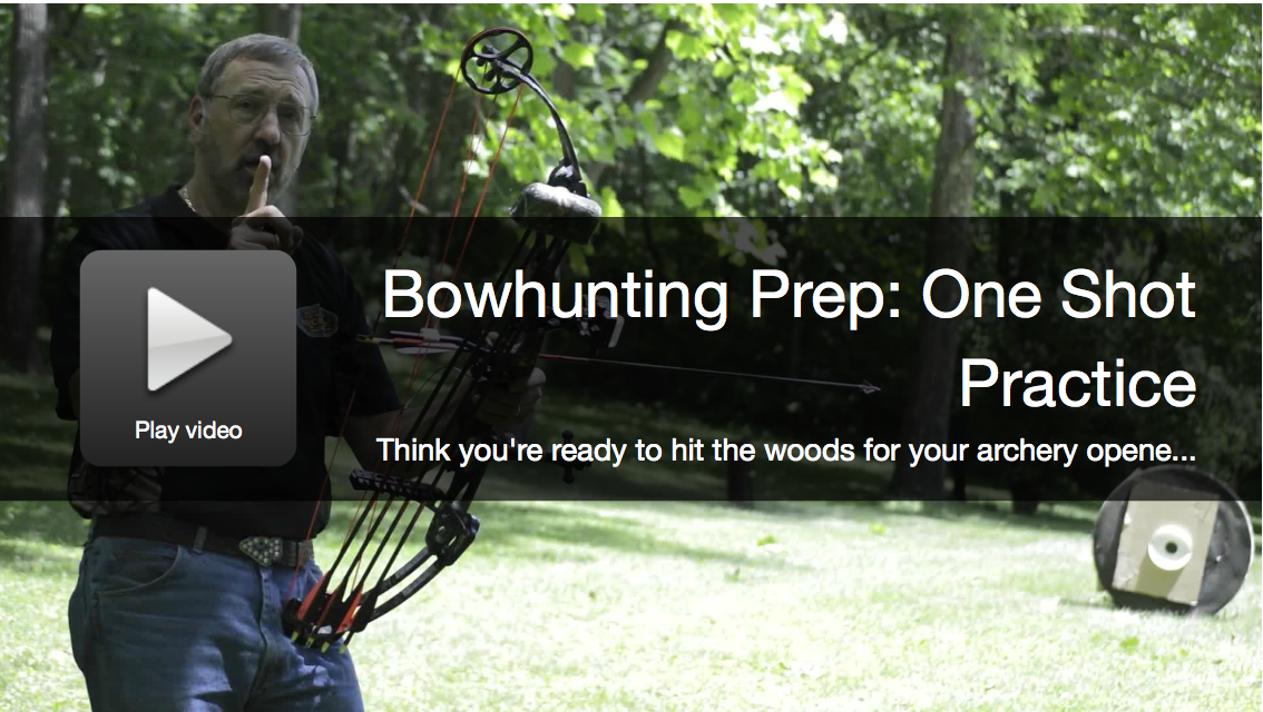 Bowhunting Prep: One Shot Practice Test For Deer Season