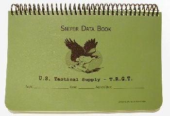 U.S. Tactical Supply Sniper Data Book