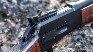 rear sight of big horn armory model 89 rifle