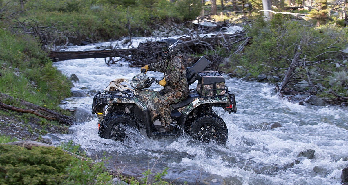ATVs and Hunting: Ride Where You Can, Then Start Walking