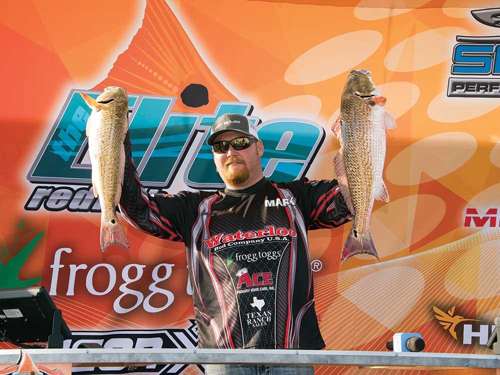 Redfish Champ Mark Robinson