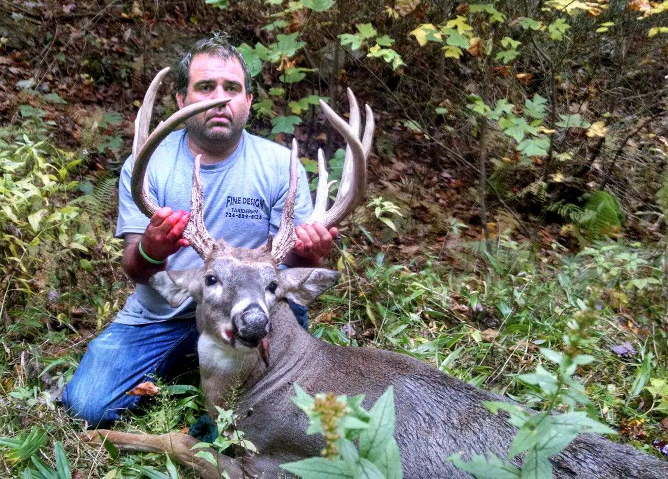 Pennsylvania Hunter Kills Potential State Record Buck