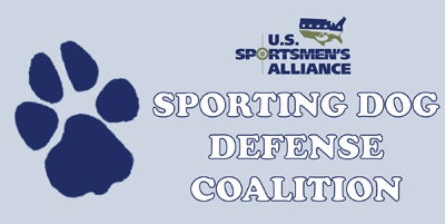 Join: Sporting Dog Defense Coalition