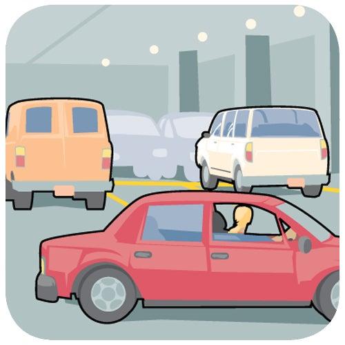 Stay Safe in a Parking Garage
