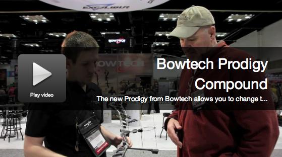 New Bows 2015: Bowtech Prodigy