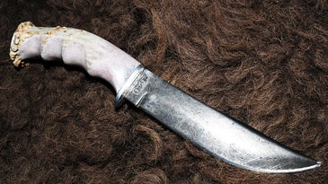 Handmade Antler Handle Knife