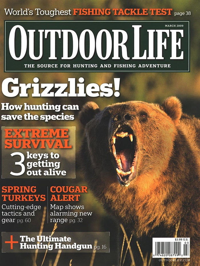 March 2009 Cover of Outdoor Life