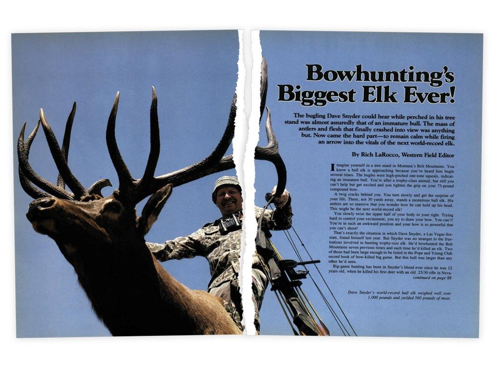 outdoor life elk story november 1983