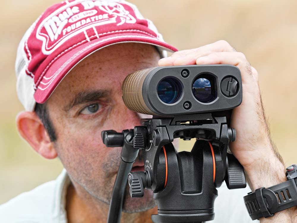 Bushnell CONX rangefinding being tested