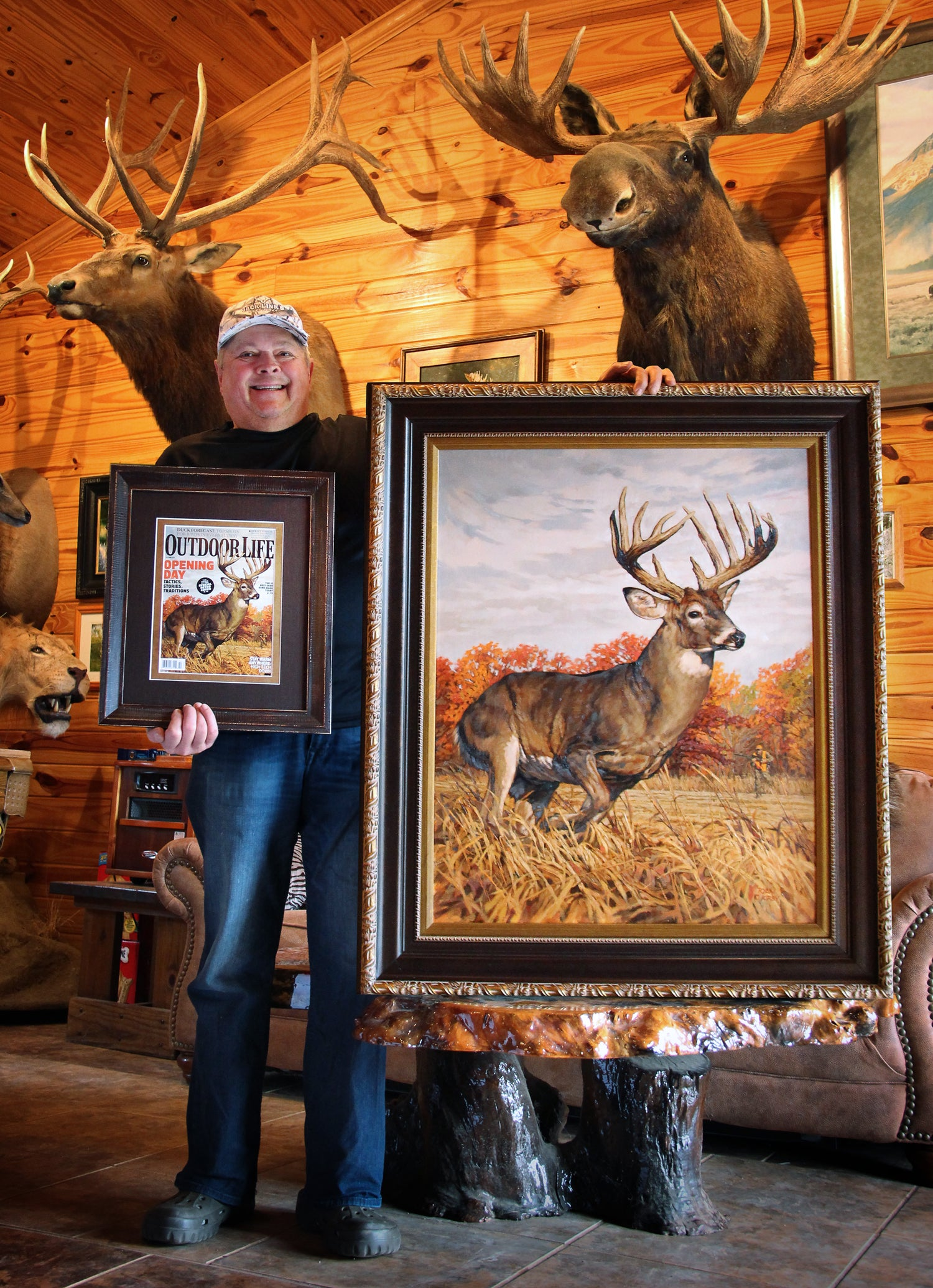 Longtime Outdoor Life Subscriber Buys October 2014 Cover Painting
