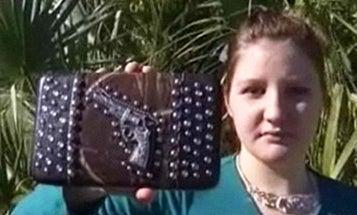 Teen Stopped by TSA for Gun Design on Purse